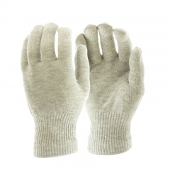 Silver Skiing Glove Liners